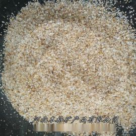 本格供应石英砂滤料 水处理精制石英砂 高纯度石英砂