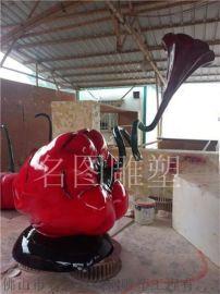 玻璃钢雕塑哪家有、名图大型玻璃钢雕塑厂家