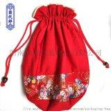 帆布袋廠家定做全棉帆布袋高檔束口禮品袋創意帆布袋