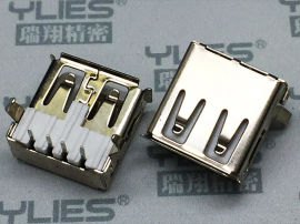 500-USB连接器 母座90度 A-TYPE