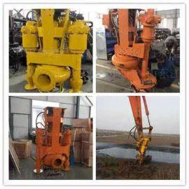 高效率挖掘机渣浆泵 建设专用挖掘机抽鹅卵石泵规格多样