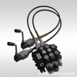 DCV100-1.2米-2OT(弹簧复位)系列软轴控制多路阀