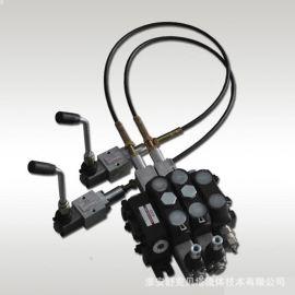 DCV100-1.2米-2OT(彈簧復位)系列軟軸控制多路閥