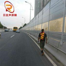 公路声屏障工程安装 施工-隔音房声屏障立柱底盘直销