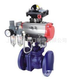 ZSHVF46-16气动衬氟O型调节球阀 气动衬氟球阀 衬氟气动调节球阀