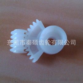 IC卡锁塑胶齿轮 塑胶蜗杆 秦硕齿轮厂hy来图来样定做齿轮