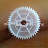 东莞塑胶齿轮厂供应M1.0*45T*6L*8.02单层齿轮按摩器齿轮耐磨损