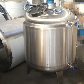HYC发酵罐厂家 定制双层夹套 加热发酵罐