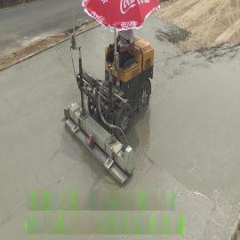 激光整平机价格 驾驶型左右滑移激光混凝土摊铺机