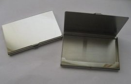 金属不锈钢名片盒