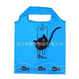 动物折叠购物袋