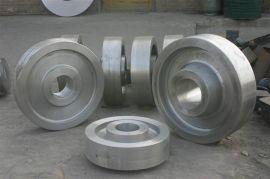 专业生产制造车轮锻件  行车轮  火车轮