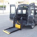 全顺面包车尾门电动升降机 轮椅上车折叠式升降平台