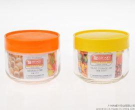 振兴YH5926玻璃密封瓶450ML储物罐/食品罐/糖果瓶/印logo