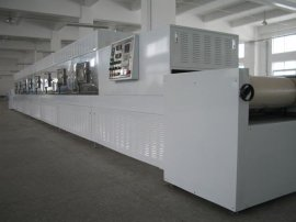 隧道式微波纺织制品干燥杀菌机