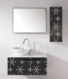 专业加工彩色不锈钢蚀刻卫浴板
