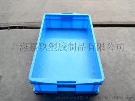 方形塑料周转箱平口物流箱上海