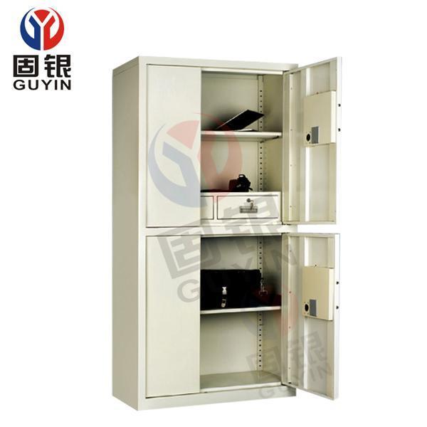 固银保密柜GY501电子文件柜 高档文件柜 四门密码文件柜 厂家直销