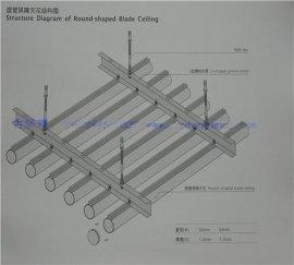 鋁圓管天花裝飾材料生產廠家