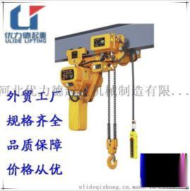 厂家直销2T电动移动式单链条起重电动葫芦