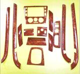 廠家直銷適用於汽車桃木內飾05-11款大衆領馭13件