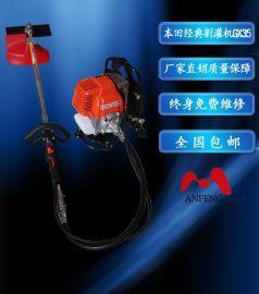 割草机本田款四冲程背负式GX35割灌机侧挂式汽油机除草机