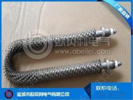 供应不锈钢散热片电加热管 U型电热管 防干烧