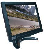 加尼鷹8001-1 8寸TFT-LED監控顯示器 工業監視器 液晶高清屏 家用電腦機頂盒DVD連接 VGA/BNC/RCA 視頻音頻 帶喇叭 塑膠殼 4:3顯示