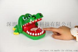 咬手指的大嘴巴鳄鱼玩具咬手玩具儿童亲子整蛊玩具咬手鳄鱼
