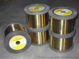 H65黃銅方線,1.0*1.0黃銅方線,首飾用黃銅線,H62插頭扁線