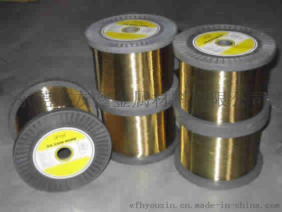 H65黄铜方线,1.0*1.0黄铜方线,首饰用黄铜线,H62插头扁线