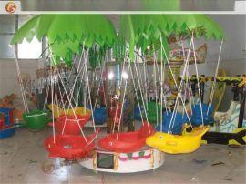 12座旋转飞鱼可以拆装吗?儿童旋转飞鱼一台电动三轮车可以拉走吗?
