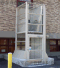 内蒙古厂家直销启运  供应 残疾人  垂直无障碍平台  小型家用电梯别墅电梯