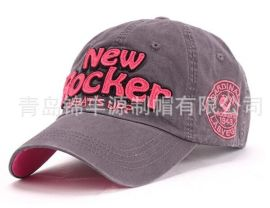 做旧水洗帽 字母时尚棒球帽 夏季遮阳帽学生帽 男女休闲潮户外运动帽
