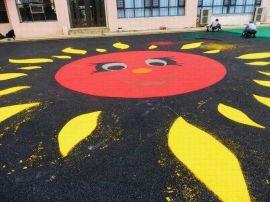 青岛幼儿园塑胶地面施工