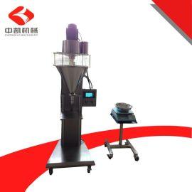 直销咖啡、饮料灌装机 速溶500g咖啡灌装机 半自动食品粉剂灌装机