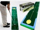 轨迹高尔夫推杆练习器练习毯