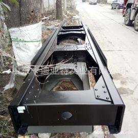 陕汽德龙原装加重型大梁生产厂家德龙大梁专卖 原厂锰钢钢板
