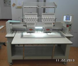 专业生产小型电脑绣花机LY-902G打样机 商用高速刺绣机鲁悦精工厂家直销
