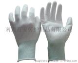 【百安品牌】供应白色PU涂掌手套,价格优,品质好,大量现货