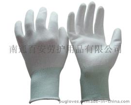 【百安品牌】白色PU涂掌手套