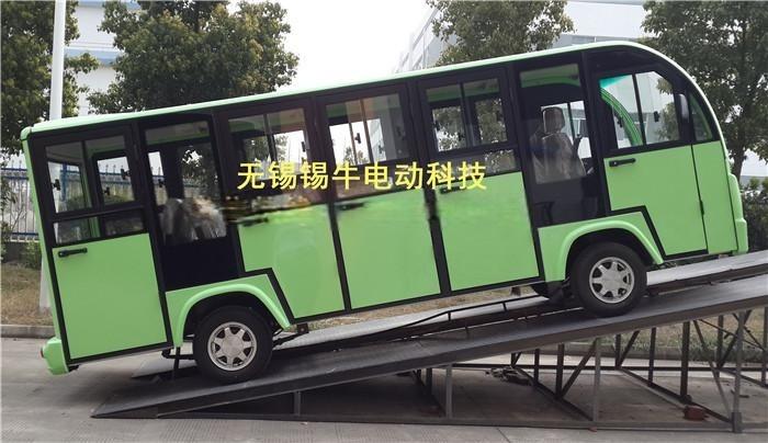 无锡锡牛XN6142KF14座四轮全封闭电动观光车
