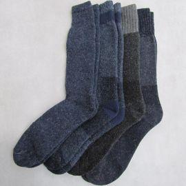 户外袜子  毛圈男袜  户外中筒男袜