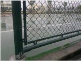 包頭供應高爾夫球場專用圍網 操場圍欄 菱形防護網 體育場勾花護欄網