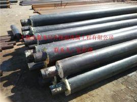 高密度聚乙烯聚氨酯保温管 直埋式预制保温管 聚氨酯发泡保温管DN32