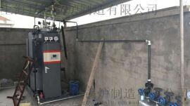 嘉善何信化工纸业瓦楞机配套用250kg燃气蒸汽锅炉,免使用证节能高效燃气冷凝蒸汽发生器