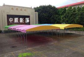 长沙定做物流仓库篷户外移动遮阳蓬加固工厂大型帐篷