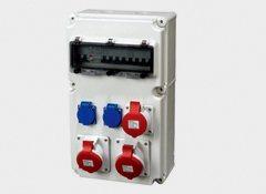 厂销工业防水插座检修箱 电源照明动力配电箱 多工能箱控制箱IP65