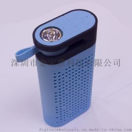 迷你户外运动led无线蓝牙音箱4合一夜灯手提手电筒手机充电宝