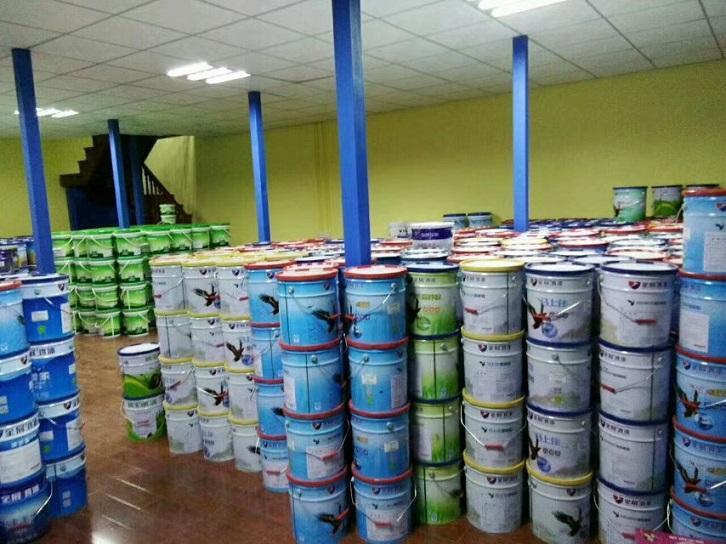 供应低价内墙漆加盟泉州品牌乳胶漆_高遮盖抗污墙面涂料